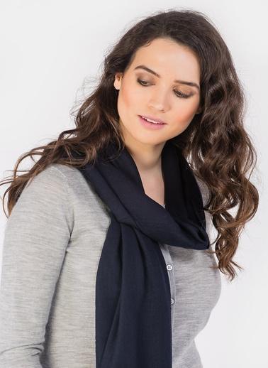 Silk and Cashmere Şal Lacivert